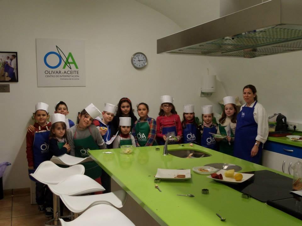 Recetas de nuestros Talleres de Cocina para niños